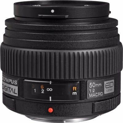 Olympus 50mm f/2.0 Macro 4/3rd Lens