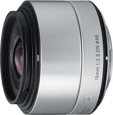 Sigma 19mm f/2.8 DN Silver Art Series Lens - Micro Four Thirds