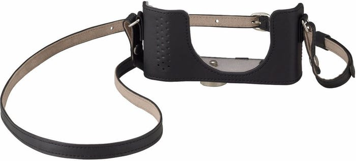 Olympus CSCH-116 Black Leather Body Jacket & Strap