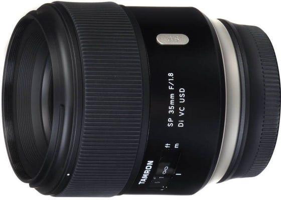 Tamron SP AF 35mm f/1.8 Di VC USD Lens - Nikon