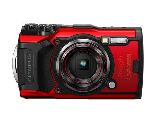 Olympus TG-6 Red Digital Compact Camera