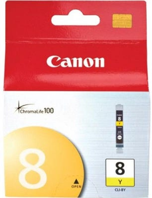 Canon CLI8Y Yellow Ink Tank
