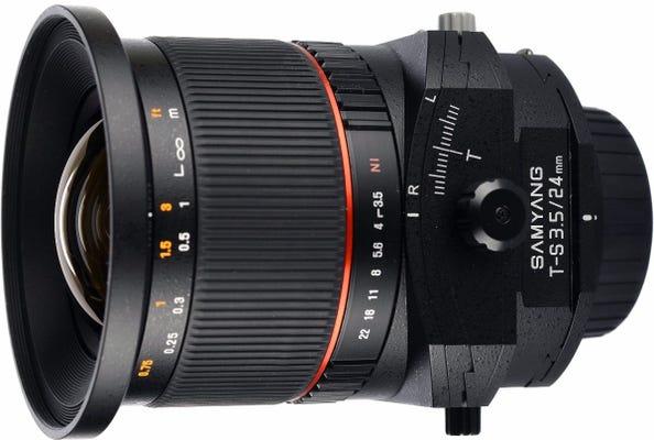Samyang 24mm f/3.5 Tilt & Shift Lens for Nikon AE Full Frame
