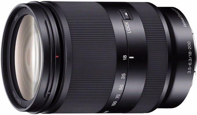 Sony 18-200mm f/3.5-6.3 OSS LE Telephoto Lens