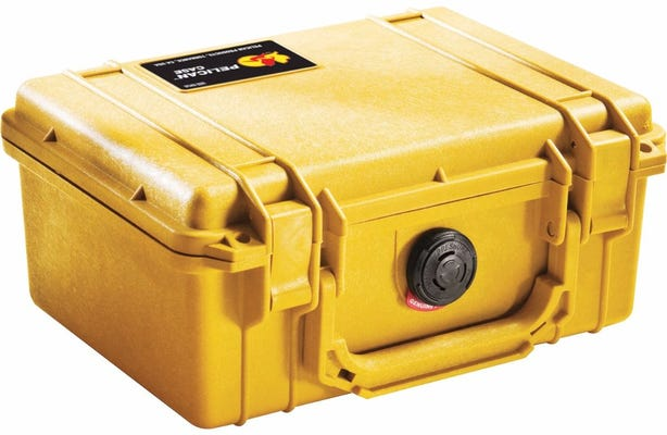 Pelican 1150 Yellow Case with Foam