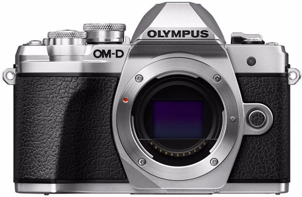 Olympus OM-D E-M10 Mark III Silver Body Only Compact System Camera