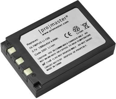 ProMaster Olympus LI-12B Battery