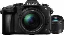 Panasonic G85 Black Compact System Camera w/12-60mm Lens + BONUS 25mm f1.7 Lens