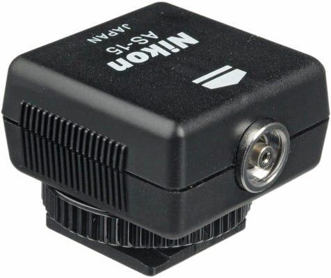 Nikon AS-15 PC Sync Adapter