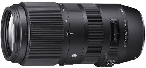 Sigma 100-400mm f/5-6.3 DG OS HSM Contemporary Lens - Nikon