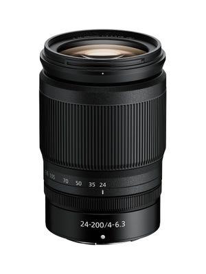 Nikon Nikkor Z 24-200mm f4-6.3 VR Lens