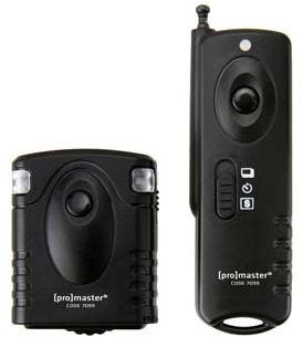 ProMaster Wireless Remote Shutter Release - requires Camera Release Cable