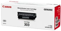 Canon CART303 Toner Cartridge to suit LBP3000