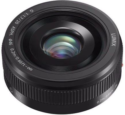 Panasonic Lumix G 20mm f/1.7 II ASPH Pancake - Black Lens
