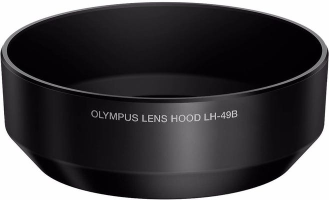 Olympus LH-49B Black Lens Hood