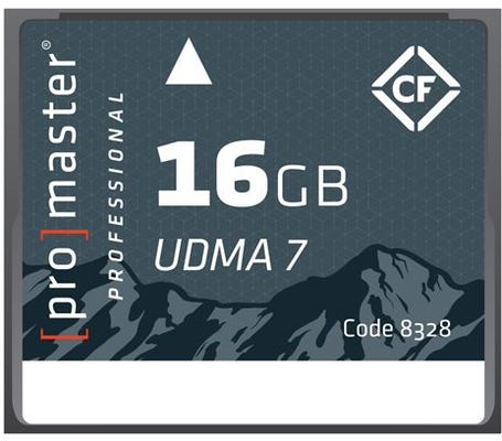 ProMaster CompactFlash Rugged 16GB 1066x 160MB/s Professional Memory Card