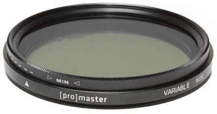 ProMaster Variable ND Digital HGX 58mm Filter