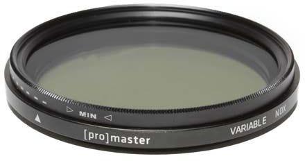 ProMaster Variable ND Digital HGX 62mm Filter
