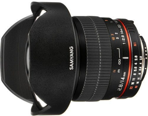 Samyang 14mm f/2.8 UMC II - Nikon AE Full Frame