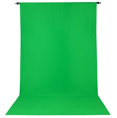 ProMaster Backdrop Wrinkle Resistant 10'x12' - Chroma Green