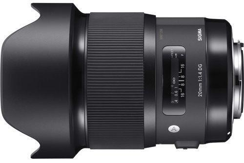 Sigma 20mm f/1.4 DG HSM Art Series Lens - Nikon
