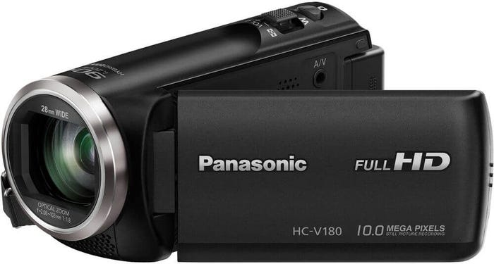 Panasonic HC-V180 Black Digital Video Camera