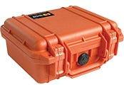 Pelican 1400 Orange Case with Foam