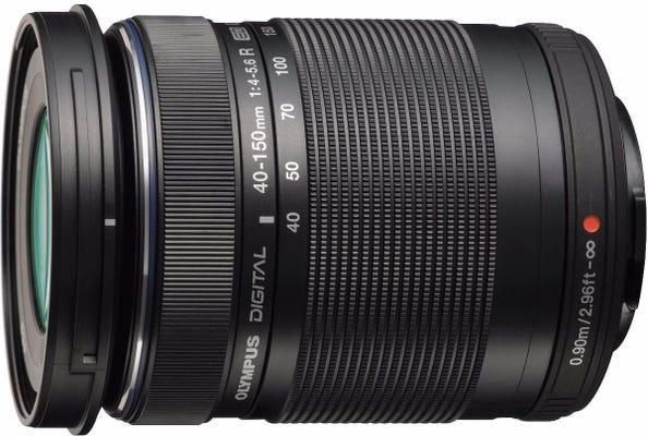 Olympus M.Zuiko 40-150mm f/4.0-5.6 R Black Telephoto Lens