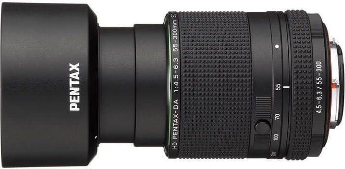 Pentax HD DA 55-300mm f/4.5-6.3 ED PLM RE Lens