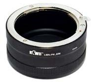 Kiwi Mount Adapter - Pentax K Lens - Sony E Camera - LMA-PK(A)_EM