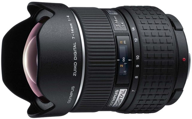 Olympus 7-14mm f4.0 Ultra-Wide Zoom 4/3rd Lens