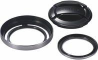 Fujifilm X20 Lens Accessories