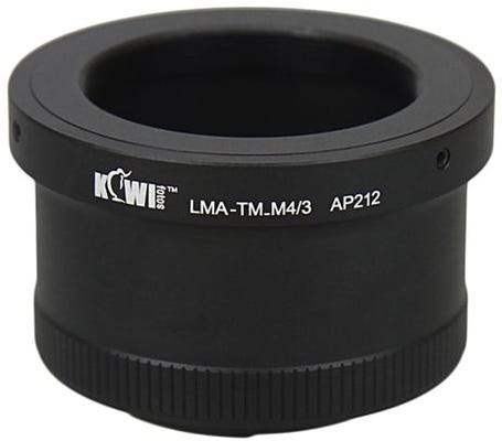 Kiwi Mount Adapter - T Mount Lens - micro 4/3 Camera LMA-TM_M4/3
