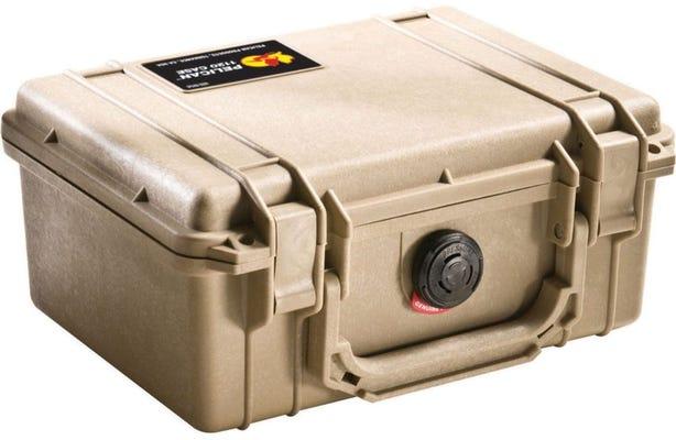 Pelican 1150 Desert Tan Case with Foam