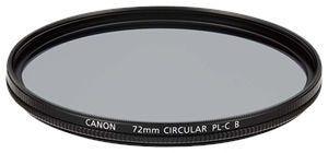Canon 72PLCB Circular Polarizing Filter