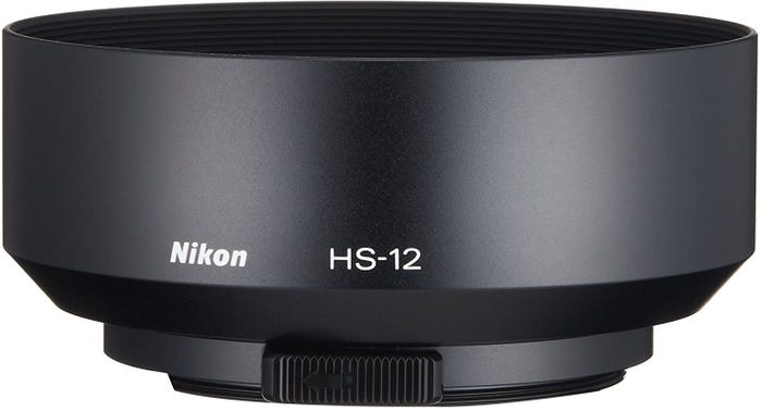 Nikon HS-12 52mm Snap-on Lens Hood