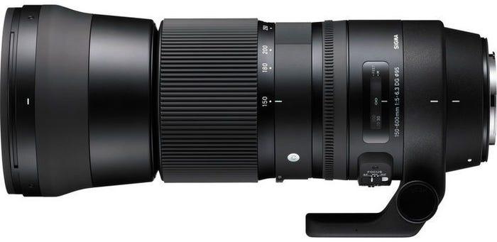 Sigma 150-600mm f/5-6.3 DG OS Contemporary Lens - Canon