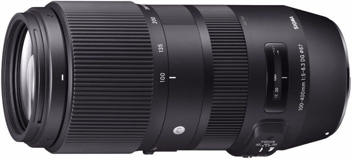 Sigma 100-400mm f/5-6.3 DG OS HSM Contemporary Lens - Canon