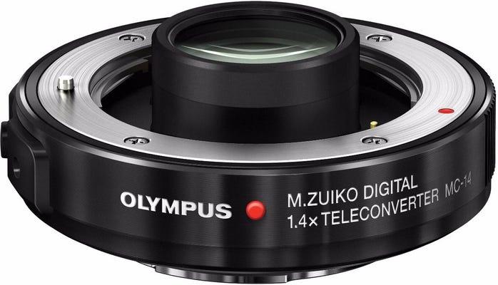 Olympus MC-14 1.4X Tele Converter Black Lens