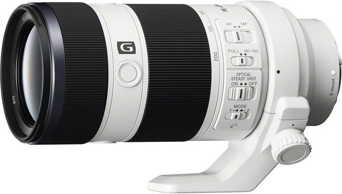 Sony FE 70-200mm f/4 E Mount G Series Telephoto Lens