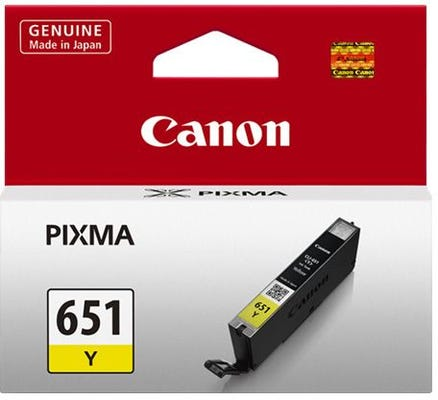 Canon CLI651Y Yellow Ink Tank