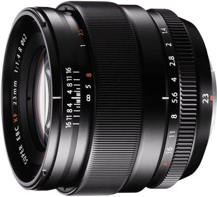 Fujifilm XF 23mm f1.4 R X Series Wide Angle Lens