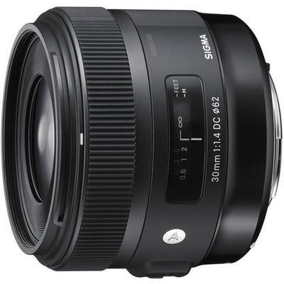 Sigma 30mm f/1.4 DC HSM Art Series Lens - Nikon