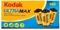 Kodak GC UltraMax 400 ISO 35mm 24 Exposure (3 Pack) - Colour Negative Film