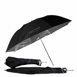 """ProMaster Professional Umbrella - Compact - Black/Silver 45"""""""