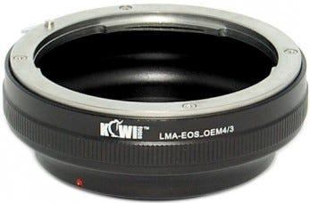 Kiwi Mount Adapter - Canon EOS Lens - micro 4/3 Camera - LMA-EOS_M4/3