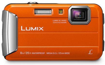 Panasonic Lumix FT30 Orange Digital Compact Camera