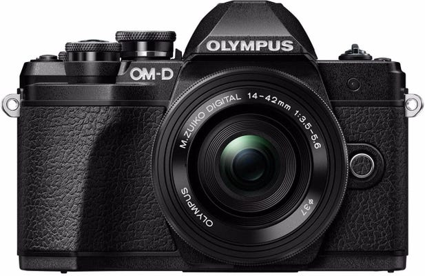 Olympus OM-D E-M10 Mark III Black w/14-42mm EZ Lens Compact System Camera