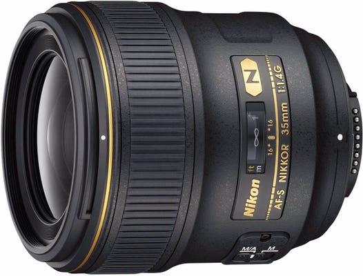 Nikon AF-S 35mm f/1.4G Wide Angle Lens