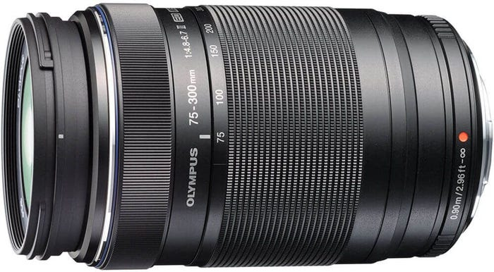 Olympus M.Zuiko 75-300mm f/4.8-6.7 II MCS Ultra Zoom Telephoto Lens